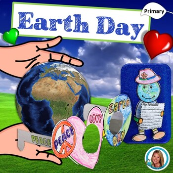 Earth Day Unit with Opinion Writing, Crafts that support C
