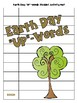"""Earth Day """"Up-Words"""" Word Scramble Activity"""
