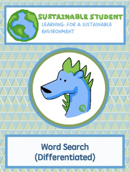 Earth Day Word Search Differentiated