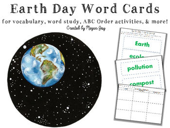 Earth Day Vocabulary