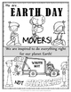 Earth Day -  Movers NOT Shakers!- {Posters and Bookmarks}