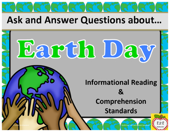 Earth Day: ask and answer questions nonfiction reading