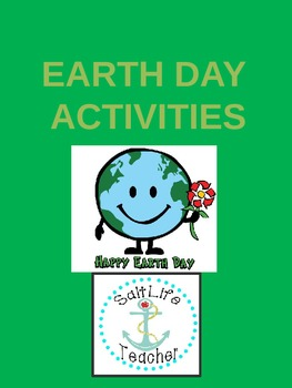 Earth Day is a Fun Day Activities