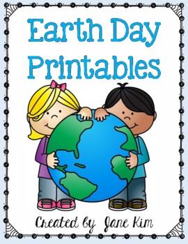 Earth Day Printables: Grades 1-2