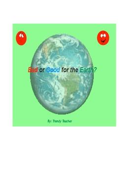 Earth Day sort flipchart