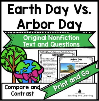 Earth Day vs. Arbor Day: Comparing and Contrasting Holidays