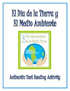 Earth Day/Día de la Tierra y El Medio Ambiente - Authentic