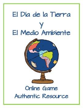 Earth Day/Día de la Tierra y El Medio Ambiente - Online Ga
