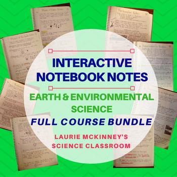 Earth & Environmental Science Interactive Notebook - Bundl