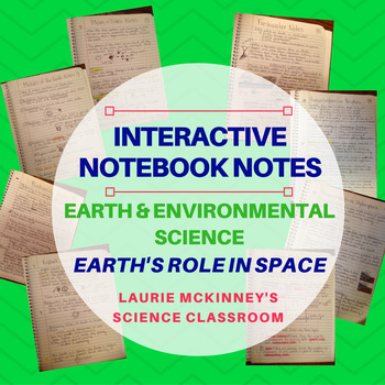 Earth & Environmental Science Interactive Notebook - Earth