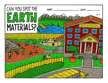 Earth Materials Picture Hunt