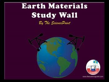 Earth Materials - Study Wall