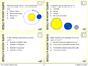 Earth, Moon and Celestial Cycles Task Cards (Differentiate