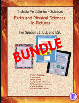 Earth & Physical Sciences (Simplified) in Pictures for Spe