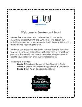 Earth Science Gr. 3-5 Sample Pack