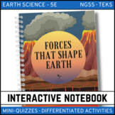 Earth Science Interactive Notebook - Forces That Shape the Earth