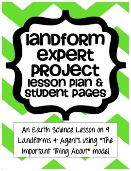 Earth Science Landform and Agent Expert Project