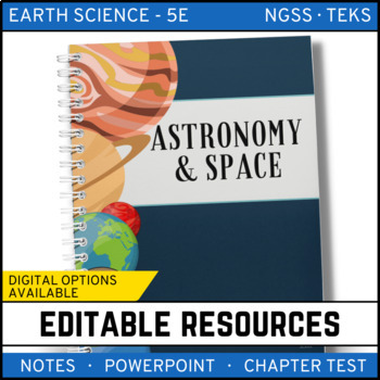 Astronomy and Space Science: Earth Science Notes, PowerPoi