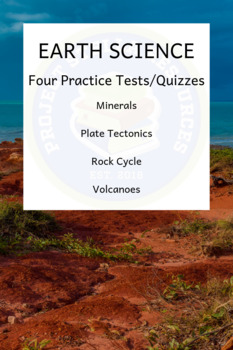 Earth Science Practice Quiz Bundle