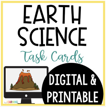 Earth Science SCOOT and Task Cards