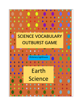 Earth Science Vocabulary-OUTBURST GAME