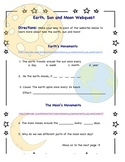Earth, Sun and Moon Webquest