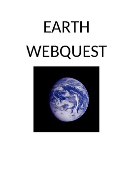 Earth Webquest
