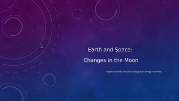 Earth and Space- Powerpoint on the Moon