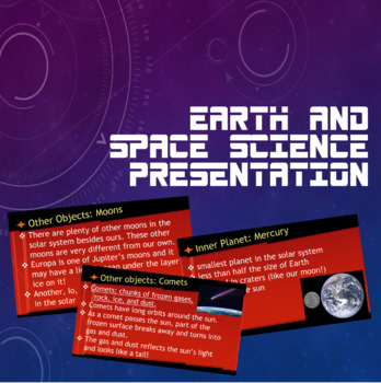 Earth and Space Science (FCAT/SSA) Presentation