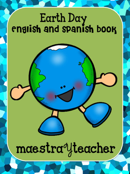 Earth day English and Spanish book
