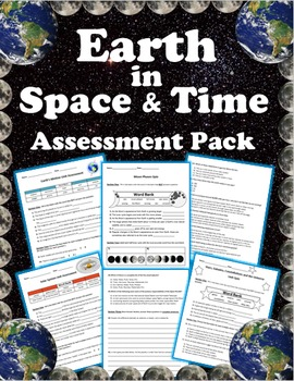 Earth in Space Assessment Pack (5 Assessments)