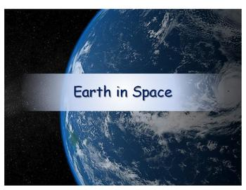 Earth in Space Review Presentation - Compatible with Turni