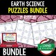 Earth's Layers and Plate Tectonics Earth Science Puzzle