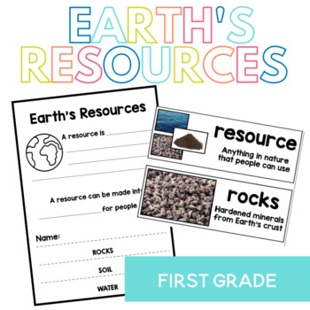 Earth's Resources: Rocks, Soil and Water Interactive Flip