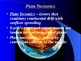 "Earth/Space Lesson III PowerPoint ""Plate Tectonics"""