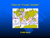 """Earth/Space Lesson II PowerPoint """"Ocean Currents"""""""