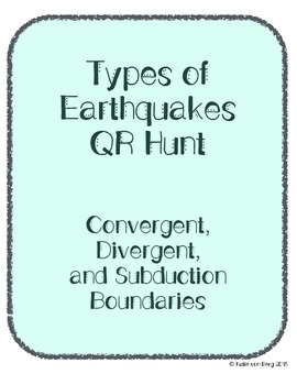 Earthquake Boundary Type QR Hunt