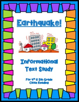 Earthquake Close Read (Grades 4-5)