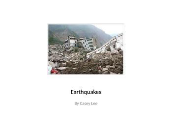 Earthquake Reading