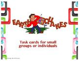 Earthquake Task Cards and Rubric