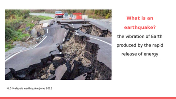 Earthquake Unit PowerPoints