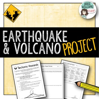 Earthquake / Volcano Project