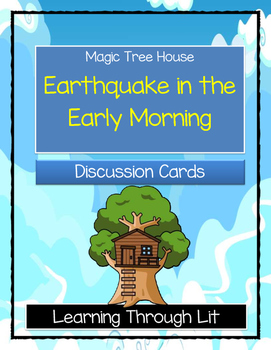 Magic Tree House EARTHQUAKE IN THE EARLY MORNING - Discuss