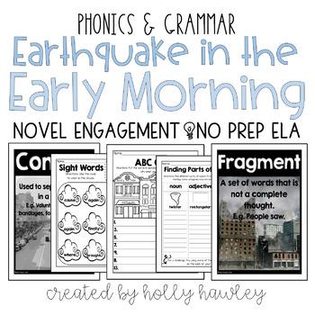 Earthquake in the Early Morning NO PREP (ELA)