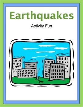 Earthquakes Activity Fun