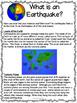 Earthquake Bundle Lesson plans, activities, worksheets