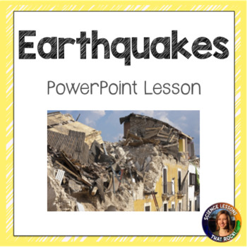 Earthquakes SMART notebook presentation