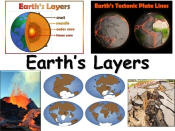 Earth's Geology Lesson - classroom unit, study guide, stat