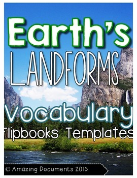 Earth's Landforms Interactive Flipbook