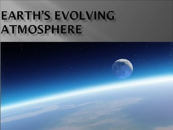 Earth's early atmosphere and volcanic out-gassing powepoint